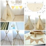Build tepee yourself - great pictures and easy DIY instructions | Lifestyle Trends & Tips