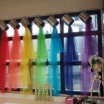 Bunte Vorhänge! #bunt #farbe #color #fenster #window #lieblingsf -