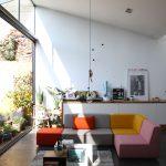 Canapé modulable moderne dans un loft