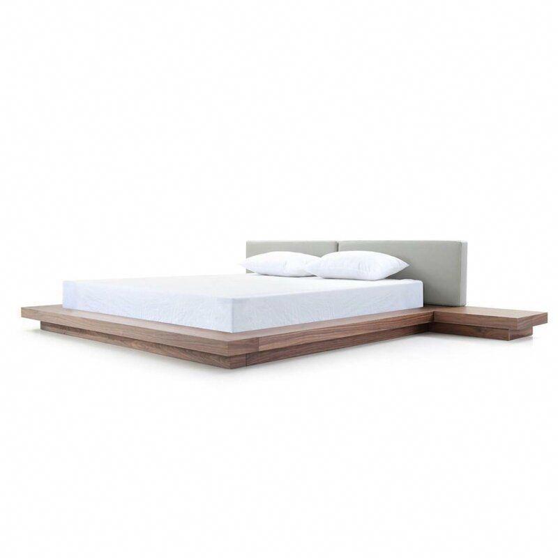 Carter Gepolsterte Pritsche Bed & Reviews | AllModern #greybedrooms