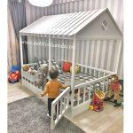 Çatısı Kapalı Montessori Yer Yatağı 140x190 - Easy Pin
