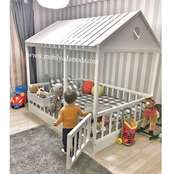 Çatısı Kapalı Montessori Yer Yatağı 140×190 – Easy Pin