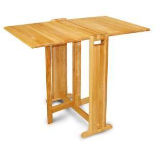 Catskill Craftsmen Natural Hardwood Butcher Block Folding Table 1622 – The Home Depot