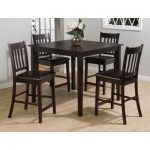 Charlton Home Manns 5 Piece Dining Table Set | Wayfair