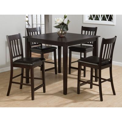Charlton Home Manns 5 Piece Dining Table Set   Wayfair