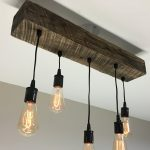 Choose Size Made to Order Reclaimed Barn Timber Beam Light Fixture With Edison Bulbs Rustic/Modern/Industrial Lighting/Bar/Restaurant/Home*