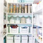 Classy Pantry Organization Ideas with Lettering