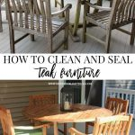 Cleaning & Sealing Outdoor Teak Furniture - worldefashion.com/decor