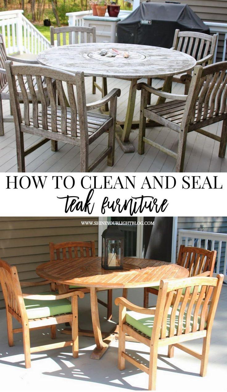 Cleaning & Sealing Outdoor Teak Furniture – worldefashion.com/decor