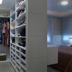 Como integrar o closet no quarto