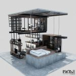 Compact Modern House Made from Affordable Materials