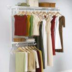 Configuration Closet Kit Cabinet Organizer Shelf Custom Hanging Space 3-6 Feet  ...