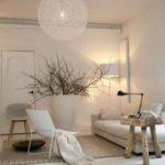 Confortable salon scandinave  #confortable #salon #scandinave#design #designer #...
