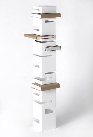 Contemporary Bookcases by Rick Ivey