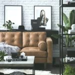 Corina Koch Sydney Interior Stylist - braunes Ledersofa, moderne Wohnkultur mit ...
