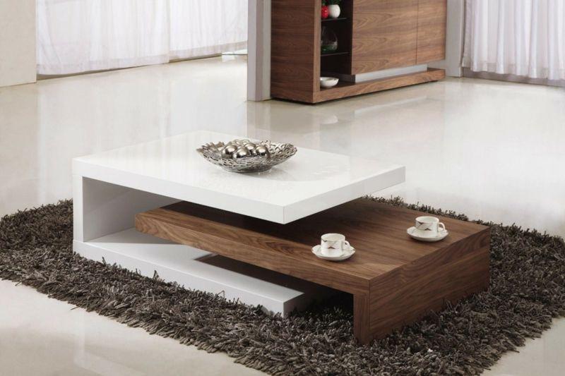 Couchtisch modern: 47 moderne Wohnzimmertische für jedes Design