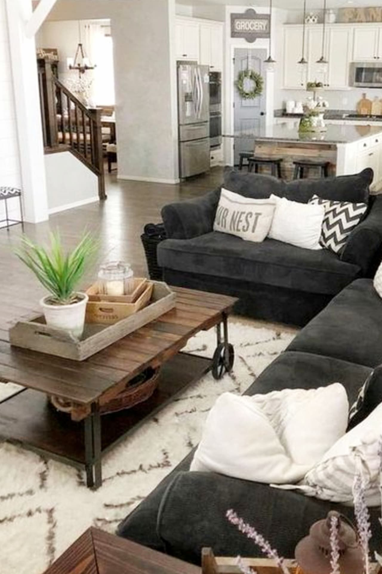 Cozy Neutral Living Room Ideas – Earthy Gray Living Rooms To Copy – Involvery