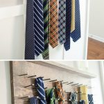 Craftaholics Anonymous® | DIY Tie Rack Tutorial
