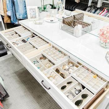 Custom Closet Dresser with Jewelry Drawers