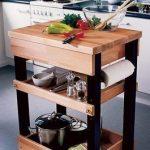 DIY-Anleitung: Küchenwagen mit Rollen selber bauen via DaWanda.com #anleitung #...