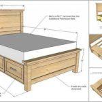 DIY Bauernhaus-Speicherbett mit Speicherfächern#design #designer #designs #desi...