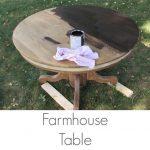 DIY Farmhouse Table: Turn Your Table Into A Farmhouse Table