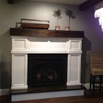 DIY Faux Fireplace {How I Built Our Fireplace}