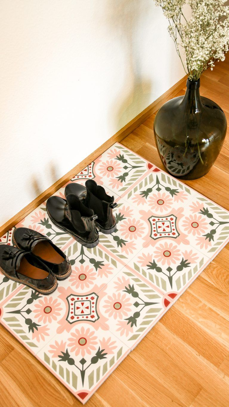 DIY Schuhablage für den Eingangsbereich mit Articima —