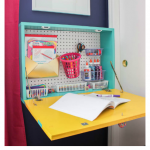 DIY Wand Schreibtisch: Easy Build Drop Down Wand Schreibtisch