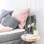 DIY hängande bord: för mer trä i kojan - https://pickndecor.com/hem