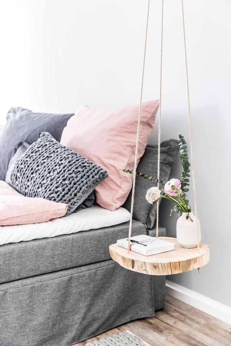 DIY hängande bord: för mer trä i kojan – https://pickndecor.com/hem