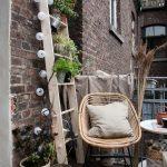 DIY-växtstege för den lilla stadsbalkongen - https://pickndecor.com/mobel