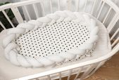 Dänemark-Knoten-Sternchen-Vereinbarung Neugeborenes Baby-Kuschelnest-Säuglings…