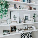 Decoración de estanterías. Fotos, ideas y consejos.