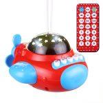 Der Spielzeugtester hat das TOYMYTOY Sternlicht Projektor Nachtlicht mit Musik G...