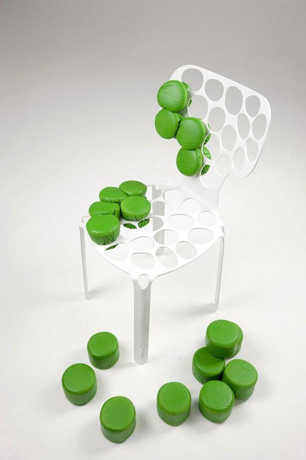 Der vitruvianische Mensch als Inspiration für innovatives Stuhl Design
