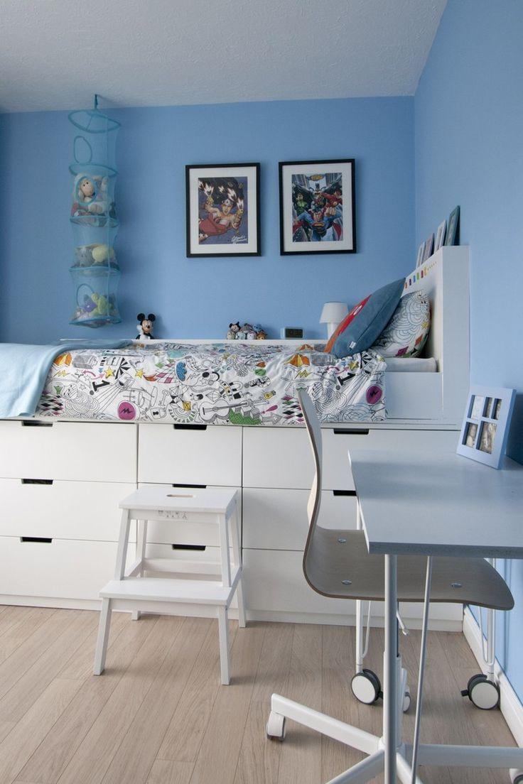 Die 25 besten Ideen zu Bett Mit Stauraum auf Pinterest