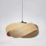 Die Wrap - Holz und Kupfer Licht Schatten