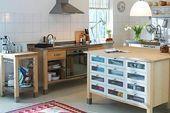 Die modulare Küche – Bild 11 – Küche #Esszimmerwandgestaltung #Esszimmerwandgestaltung