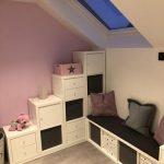 Die ultimative Kinderzimmer Eck-Kombination aus Ikea Kallax Regalen - https://pickndecor.com/haus