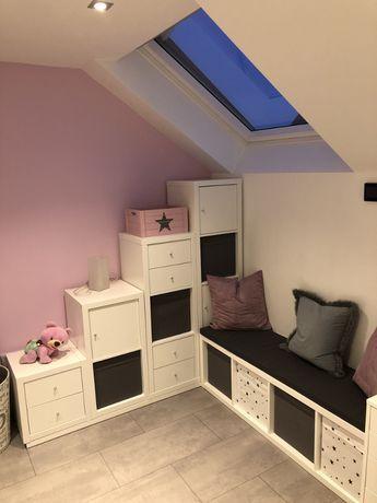 Die ultimative Kinderzimmer Eck-Kombination aus Ikea Kallax Regalen – https://pickndecor.com/haus