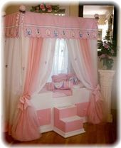 Disney TODDLER Himmelbett Mädchenbett Mädchen Schlafzimmermöbel#Skincare #Ski…