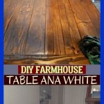 Diy Farmhouse Table Ana White ; #farmhousetable diy bauernhaustabelle ana white ...