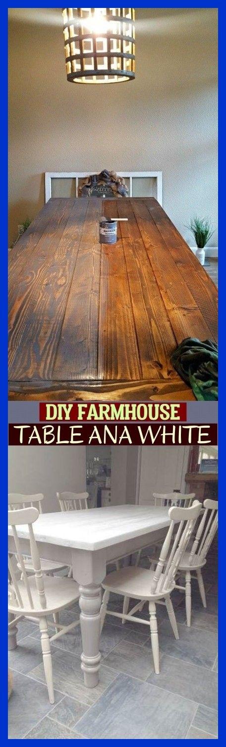 Diy Farmhouse Table Ana White ; #farmhousetable diy bauernhaustabelle ana white …