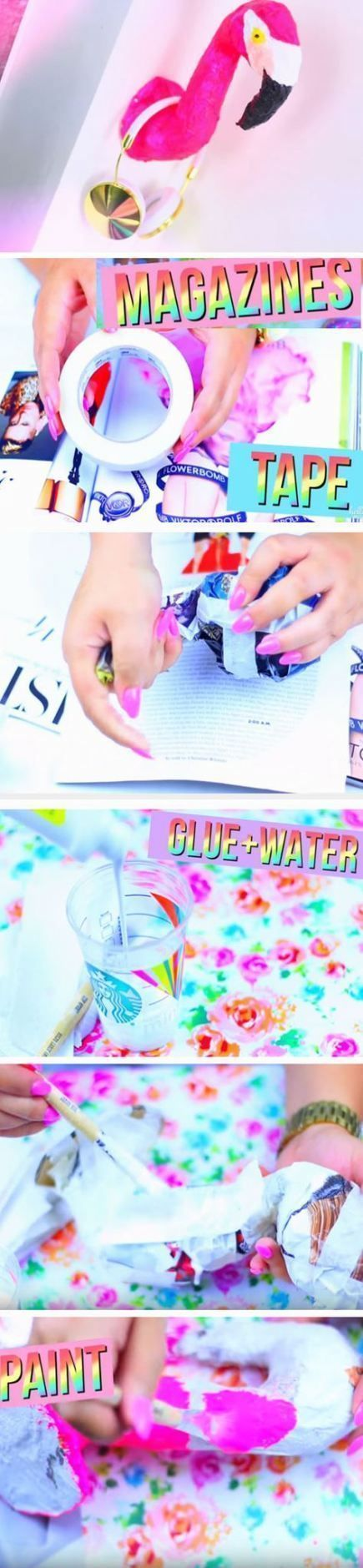 Diy Handwerk für Teen Mädchen Sommer Raumdekor 31 Ideen #craft #decor #DIY #gi…