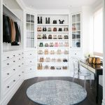 Dream Closet white wardrobe built-in wardrobe H - House Goals Ideas