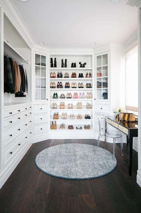 Dream Closet white wardrobe built-in wardrobe H – House Goals Ideas