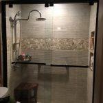 DreamLine Encore 56 to 60 in. x 76 in. Semi-Frameless Sliding Shower Door in Oil Rubbed Bronze-SHDR-1660760-06 - The Home Depot