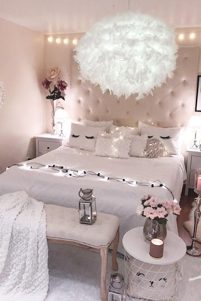 Dreamy Teen Bedroom Idea #roomforgirl #organization Need some teen bedroom ideas…