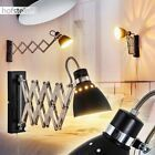Drehdimmer Wand Lampen Flur Dielen Strahler schwarz Wohn Schlaf Zimmer Leuchte; ... - My Blog